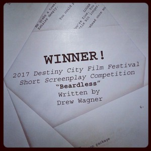 Screenplay Competition winner